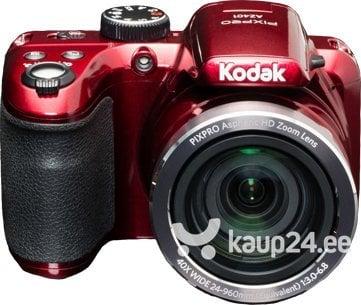 fotoapparat kodak pixpro az401 raudona
