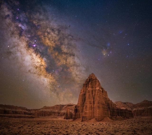 15 лучших фото Млечного Пути по версии трэвел-блога Capture theAtlas