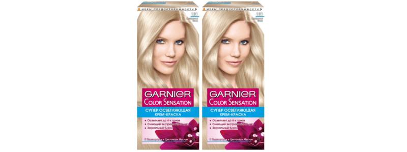 Garnier Color Sensation 101 Серебристый блонд