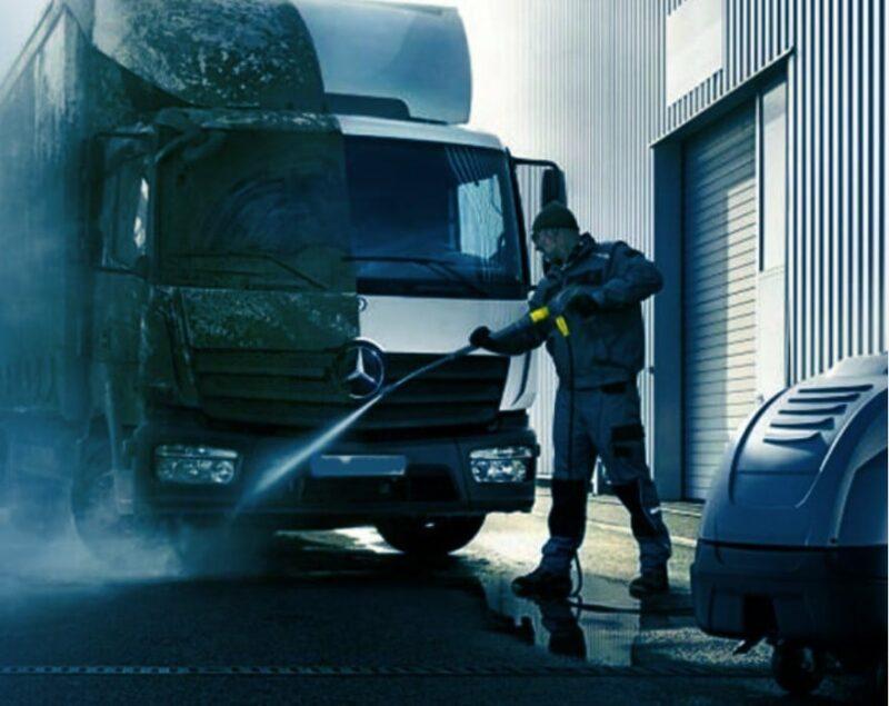 мойка грузовых автомобилей и спецтехники