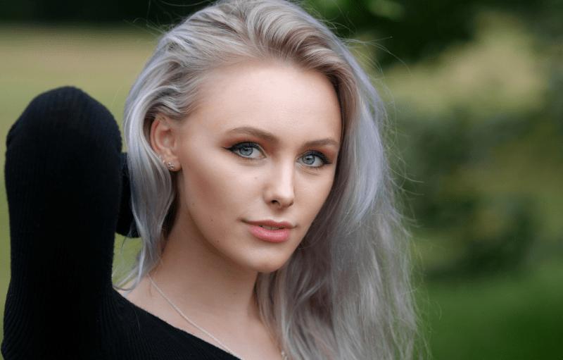Bтемно пепельный цвет волос