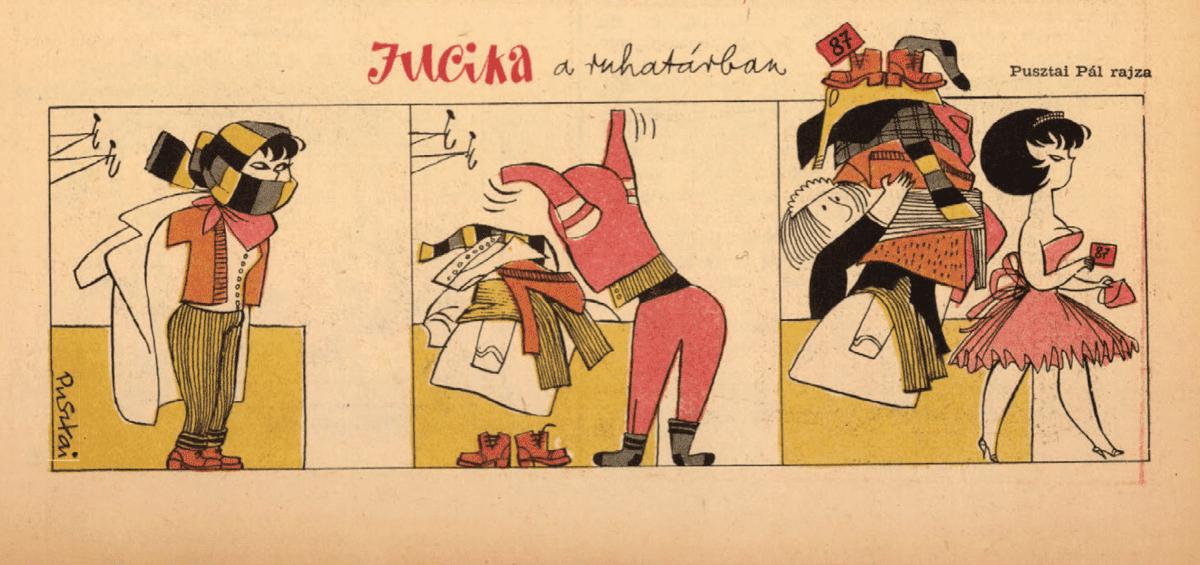 15 забавных ретро-комиксов о красотке по имениЮцика