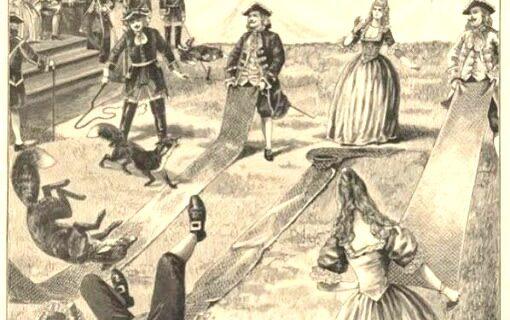 Метание лисиц – жестокий немецкий вид спорта, к счастью, совершенно забытый