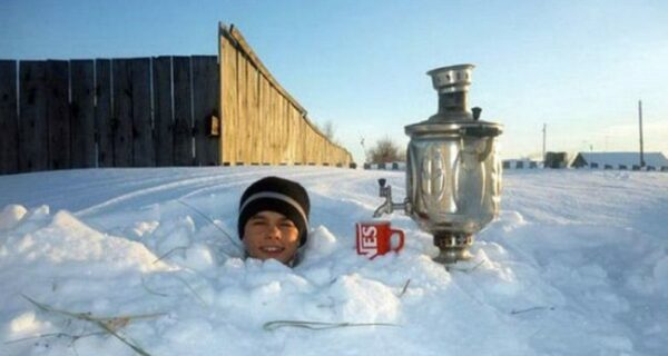 Колоритные снимки, которые могли быть сделаны только в России
