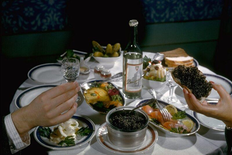 Sturgeon & caviar/ussr