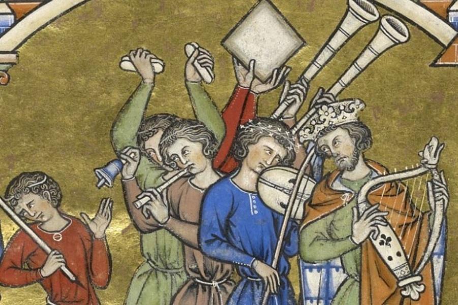Чем в Средние века весь день занималась знать, если им не надо было ходить на работу? фото