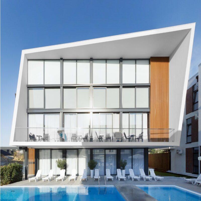 Апартаменты с бассейном в Сочи GP2301