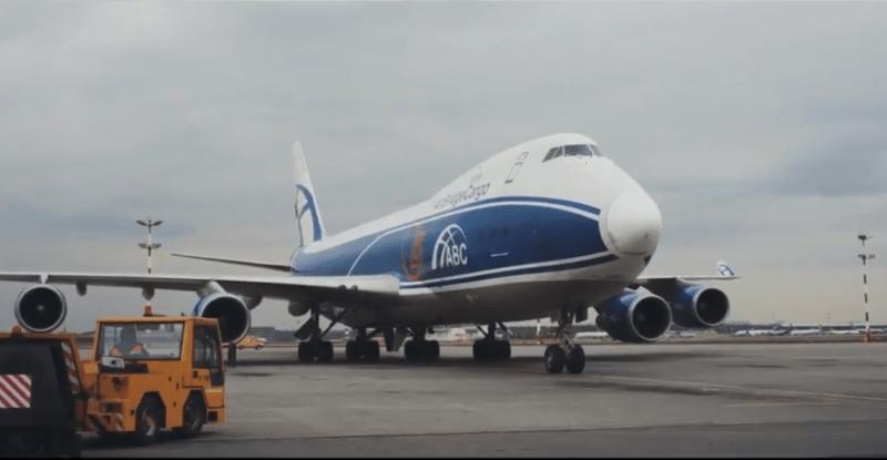 большой транспортный самолет