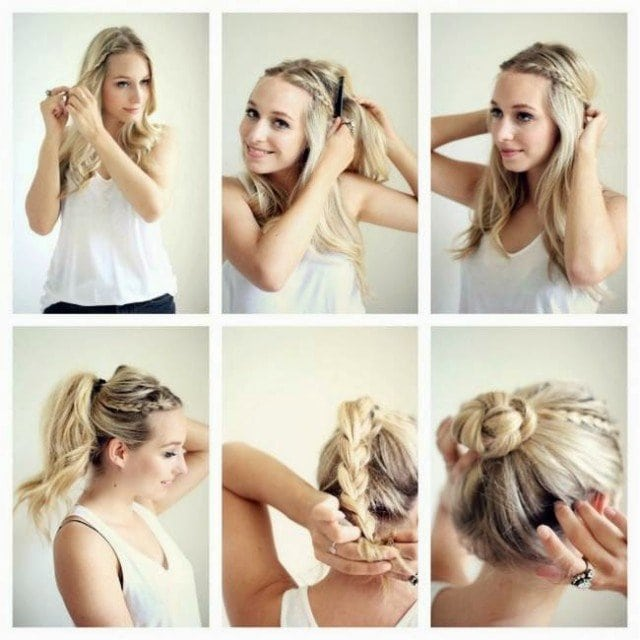 Bigpicture ru how to do easy hairstyles www.fashionends.com 2