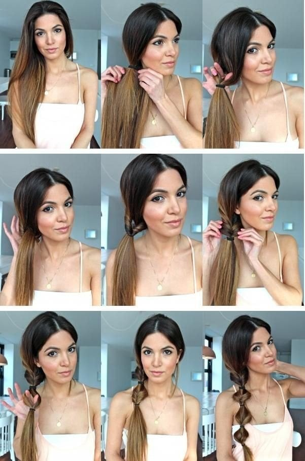 Bigpicture ru how to do easy hairstyles www.fashionends.com 5