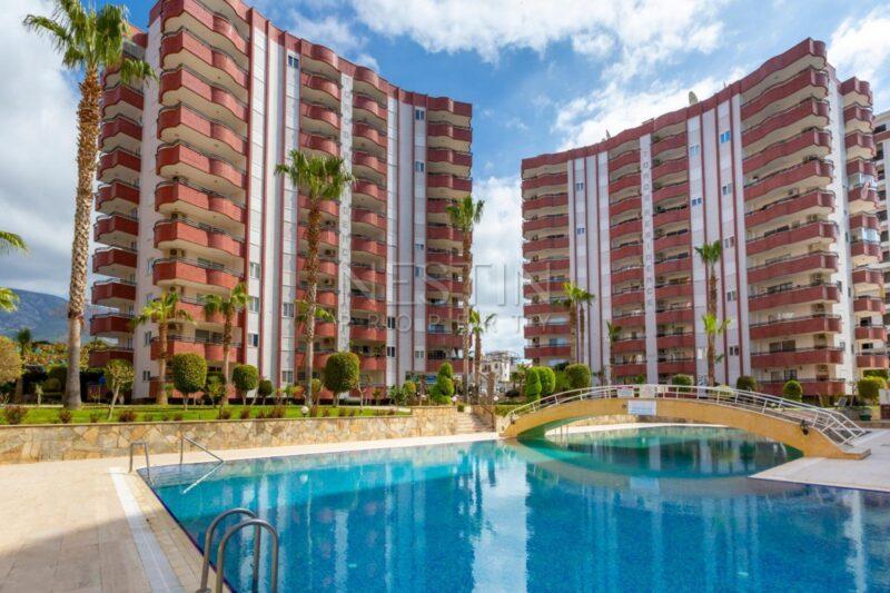 Большая квартира 2+1 в районе Махмутлар в 500 м от моря