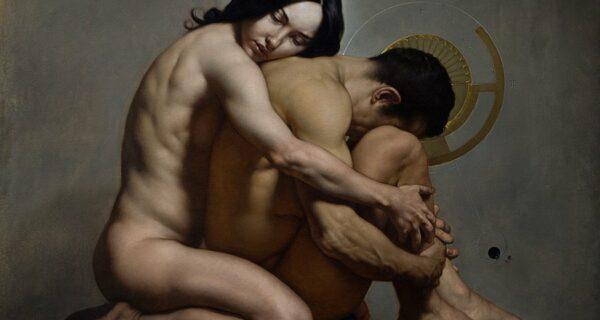 Мрачная эротика в стиле барокко от современного классика живописи Роберто Ферри