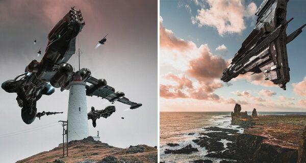 Как пришельцы высадились в Исландии: сюрреалистические фантазии Сиггейра Хафстейнссона