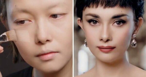 20 невероятных трансформаций: китаянка превращается в звезд с помощью макияжа