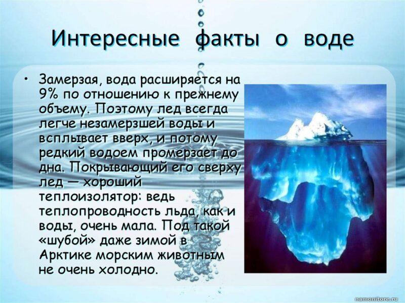 Bigpicture ru интересные факты о воде