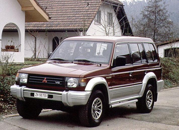 Bigpicture ru mitsubishi pajero wagon 2.5 td gl2