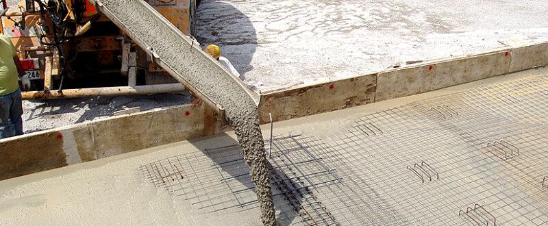 производство бетона на заводе