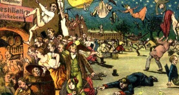 Комета Галлея и несостоявшийся апокалипсис 1910года