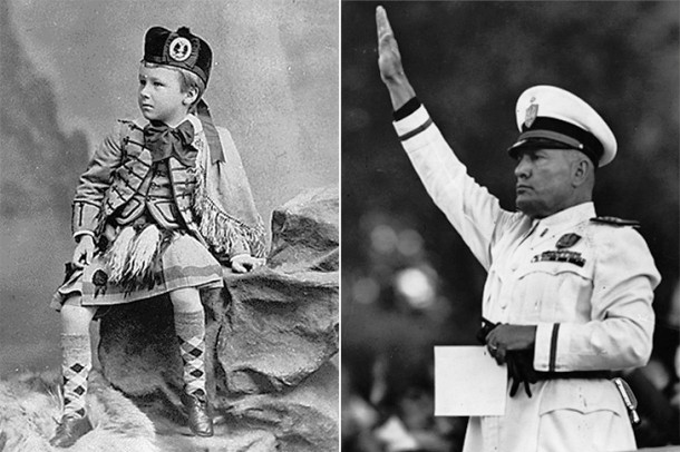 13 детских фотографий самых одиозных людеймира
