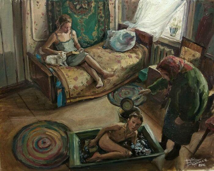 художница Настасья Чудакова