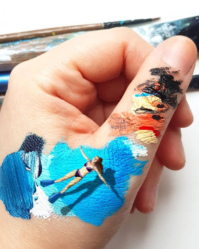 Bigpicture ru artist uses his hands as a canvas to show his hidden worlds 39 pics 60a77e8fedc68 700