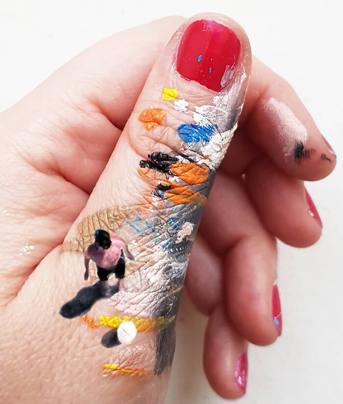 Bigpicture ru artist uses his hands as a canvas to show his hidden worlds 39 pics 60a77e96ea649 700