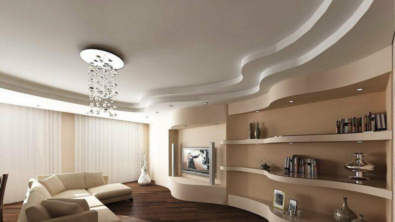 двухуровневые потолки
