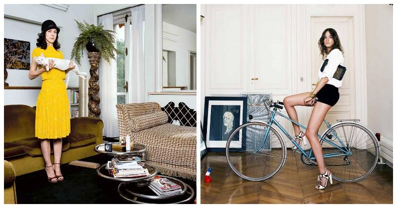 Как живут современные жительницы Парижа: «75 парижанок» Бодуэна