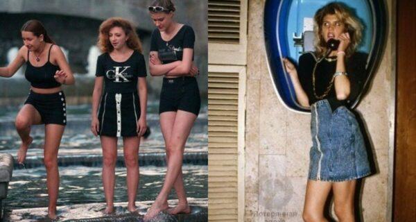 От школьниц до жриц любви: как выглядели девушки в 90‑х