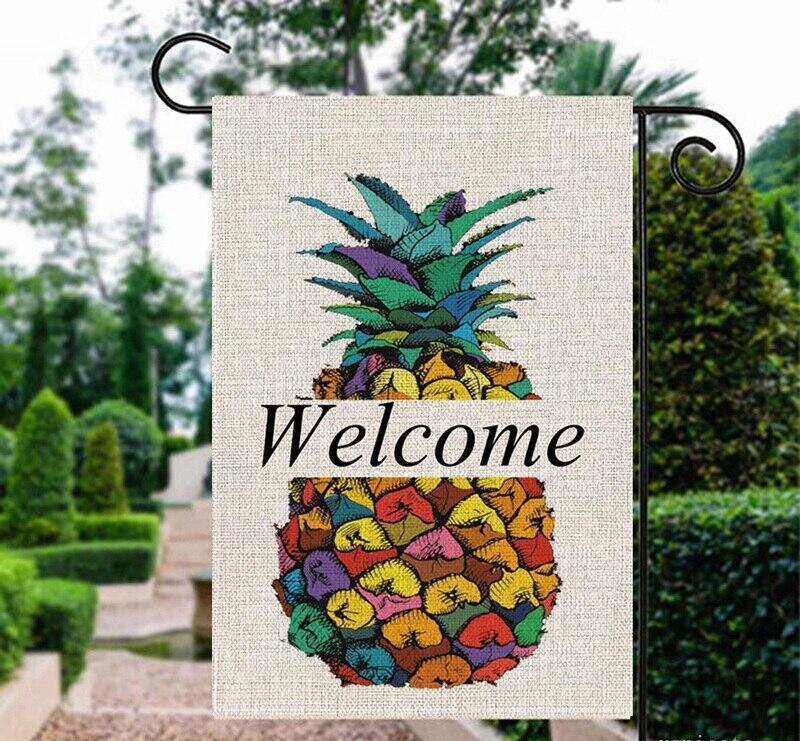 Bigpicture ru garden flag summer welcome double sided yard