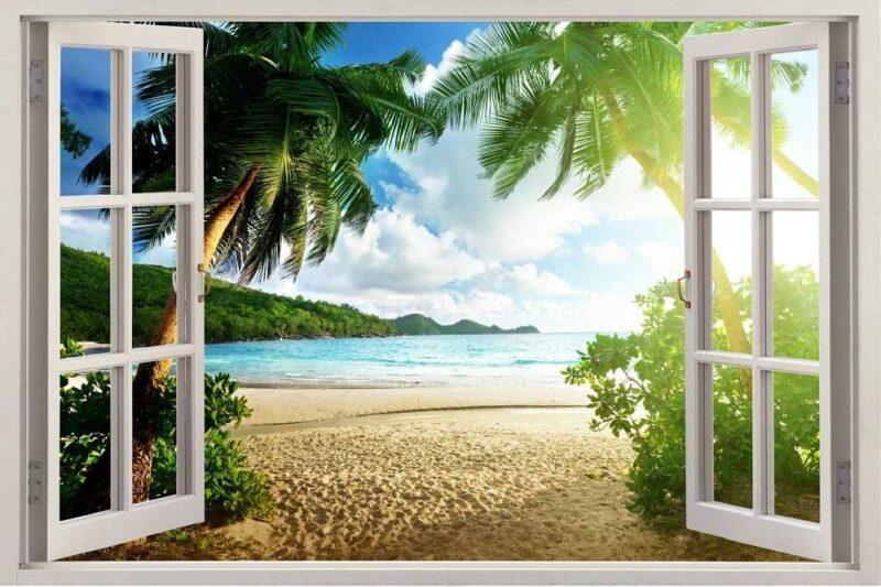 Окна у моря