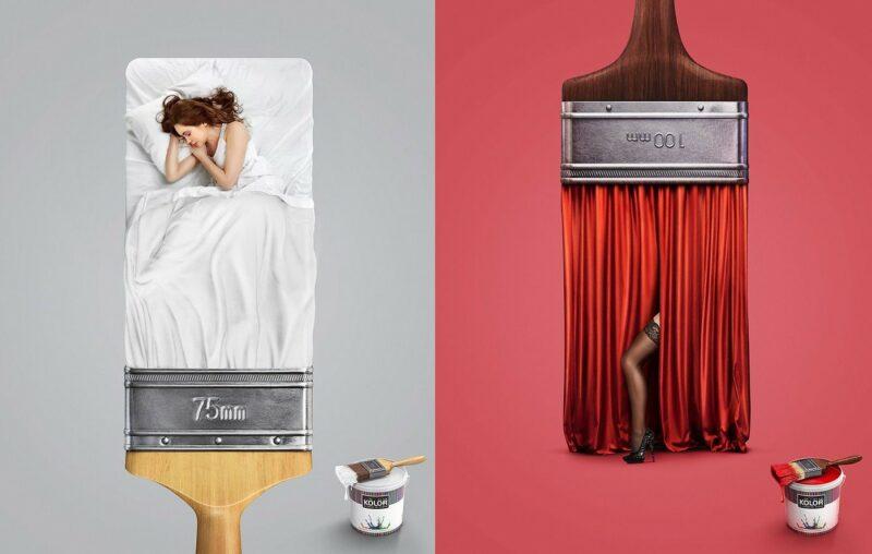 примеры креативных рекламных постеров