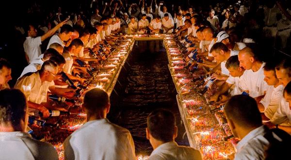 Рекорд торта со свечами