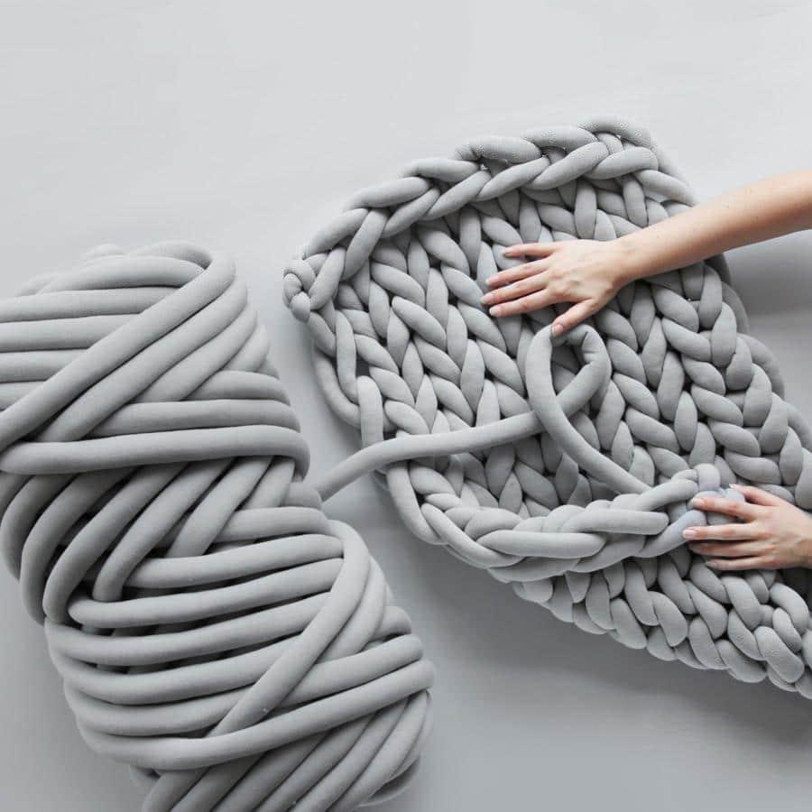 Bigpicture ru super chunky yarn cotton yarn arm knitting
