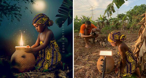 Фотограф из Нигерии показывает закулисье своих фотографий