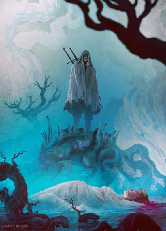 Bigpicture ru anatofinnstark artist geralt of rivia witcher персонажи 6657423
