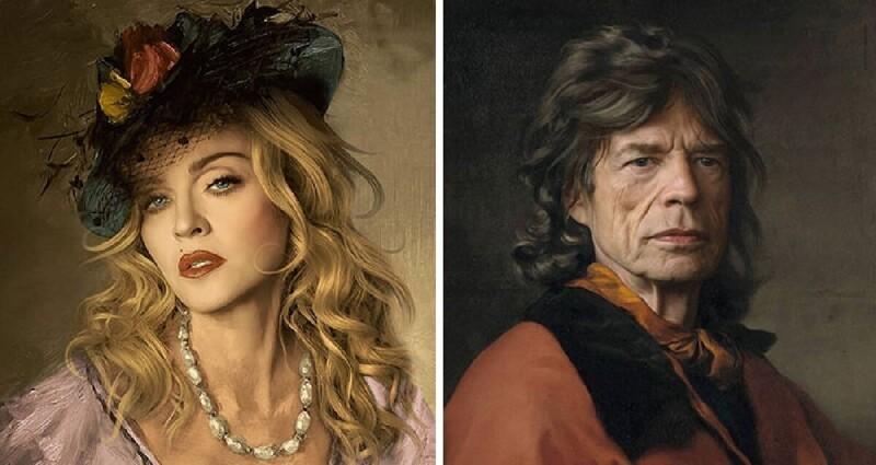 Bigpicture ru digital art celebrities classical paintings kyesone coverimage