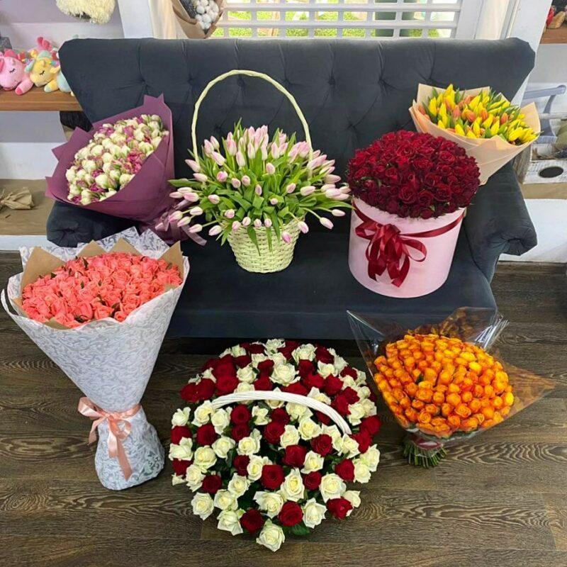 доставка цветов my bloom