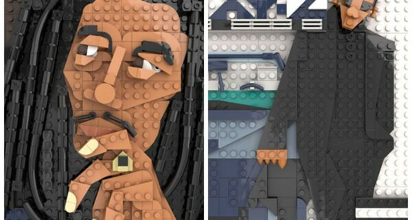Сможете узнать все? Дизайнер собирает из LEGO обложки музыкальных альбомов