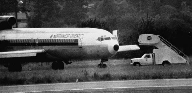 Загадочный мистер Ди Би Купер, или Как угнать самолет и не попасться