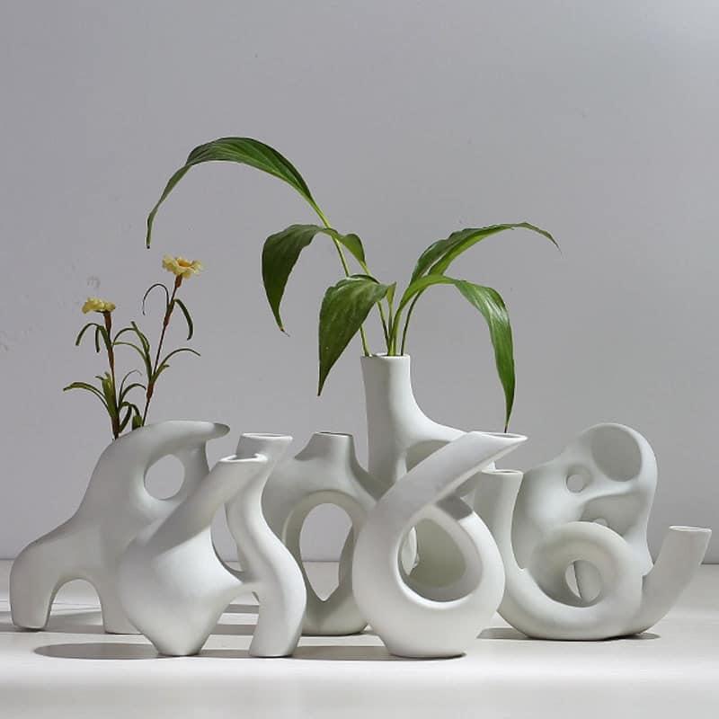 Bigpicture ru multistyle irregulate art vaza ceramica aranjament