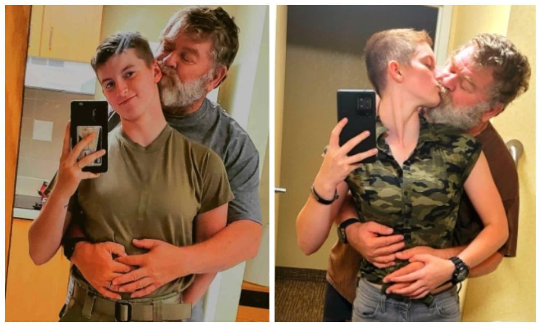 19-летняя американка вышла замуж за 61-летнего мужчину и утверждает, что счастлива