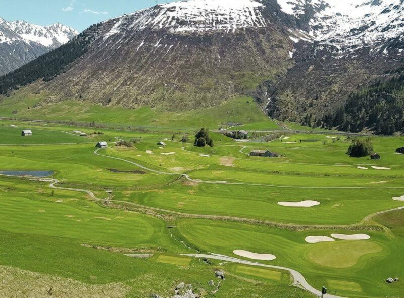 Bigpicture ru поле для гольфа andermatt swiss alps