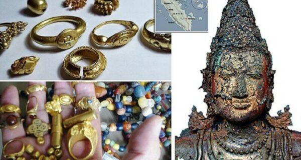 В Индонезии рыбаки нашли сокровища исчезнувшей древней цивилизации