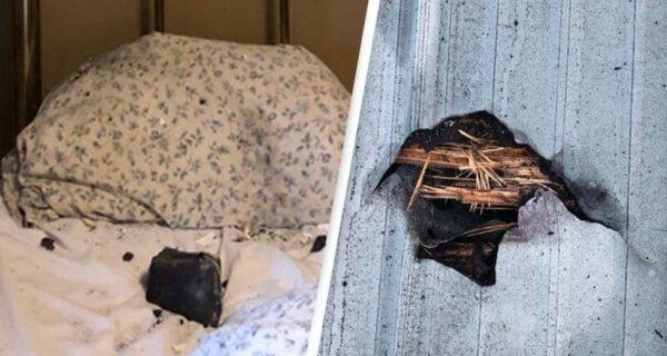 Жительницу Канады разбудил метеорит, который упал к ней в кровать