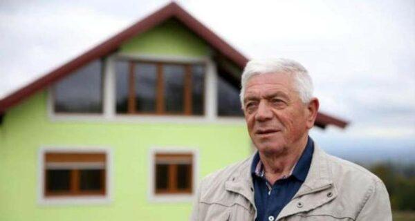 Боснийский пенсионер построил вращающийся дом, чтобы угодить сварливой жене