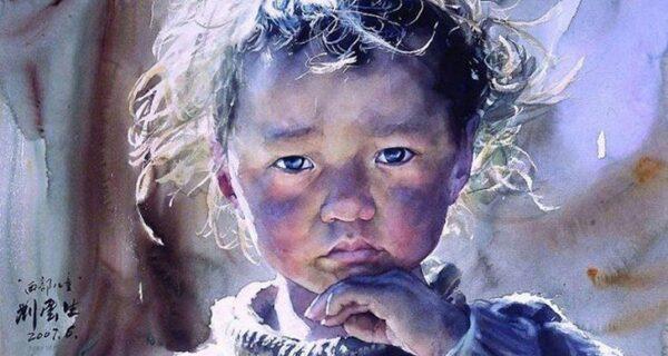 Сказочный Тибет в реалистичных акварелях Лю Йуньшена