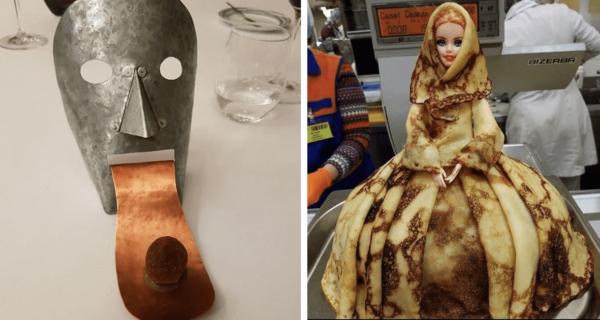 35 примеров странной, дикой и ужасной подачи блюд