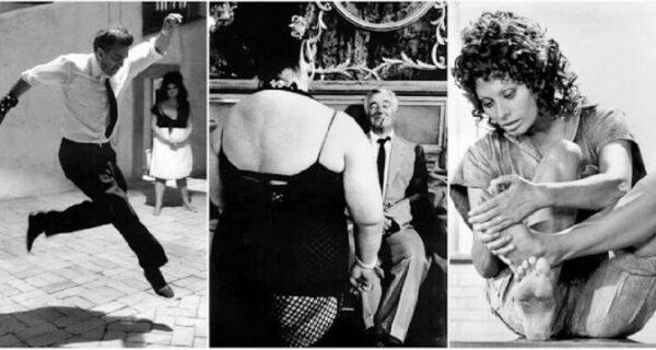 20 потрясающих черно-белых фото итальянских звезд экрана 60‑х и 70‑хгодов