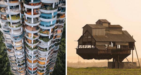 Удивительная архитектура: 40 необычных и странных зданий со всегомира